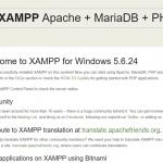 XAMPPを入れた時にすぐやっておく設定まとめ2016